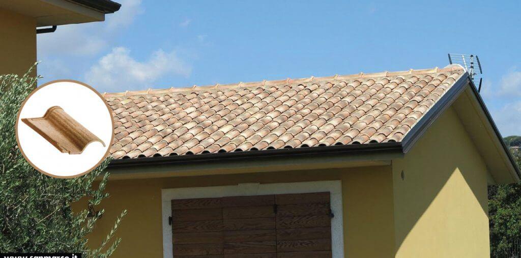 Dachówki San Marco, Olimpia C.F., kolor Pieve toscana