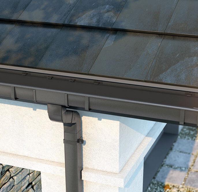 Nowy kwadratowy system rynnowy Galeco PVC2