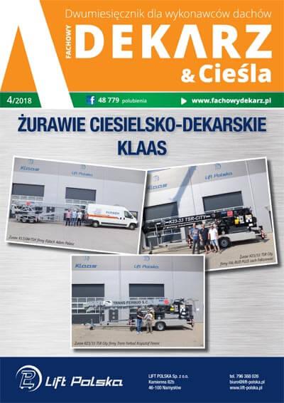 Fachowy Dekarz & Cieśla 4-2018