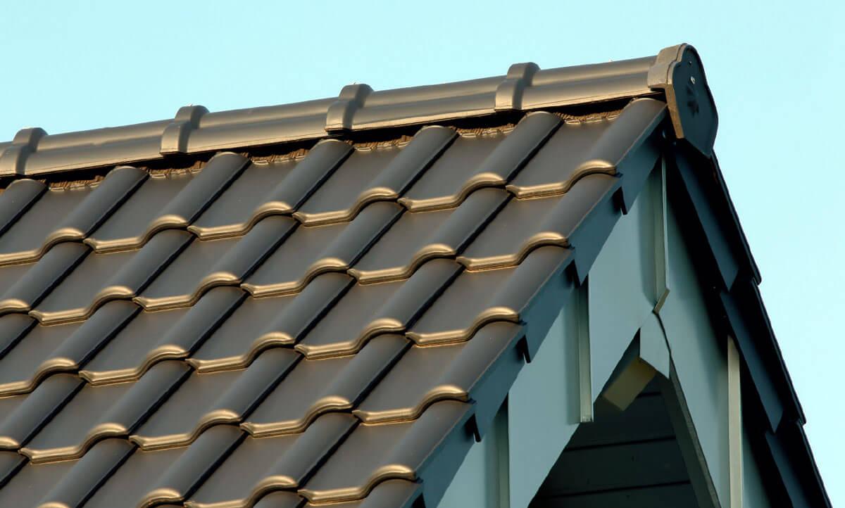 Wentylacja dachu dachówka ceramiczna Roben