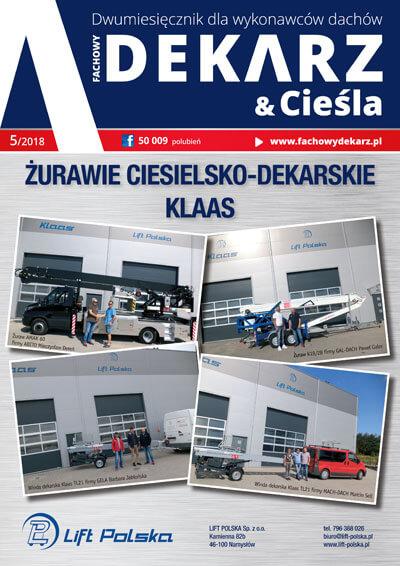 Fachowy Dekarz & Cieśla 5-2018