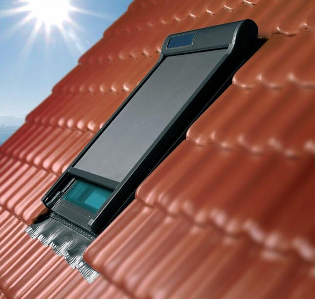 Markizy do okien dachowych Fakro AMZ Solar i AMZ Z-Wave