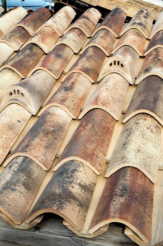 Dachówka mnich-mniszka Tegolaia tetto antico