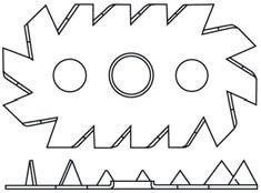 Pierścień kolczasty jednostronny Bulldog C4