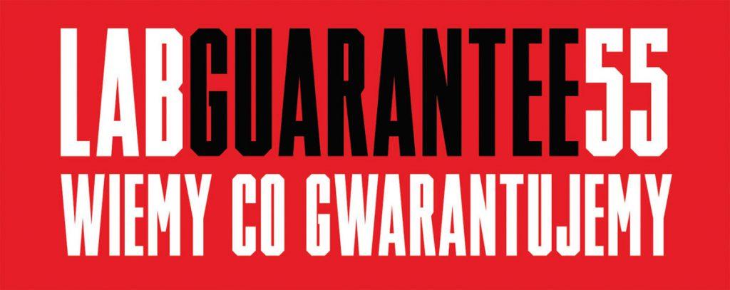 LAB GUARANTEE 55 - wiemy co gwarantujemy BLACHPROFIL 2