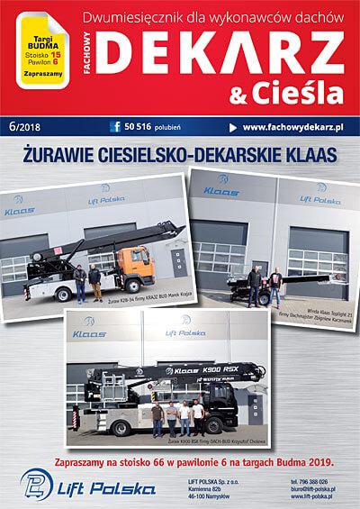 Fachowy Dekarz & Cieśla 6-2018