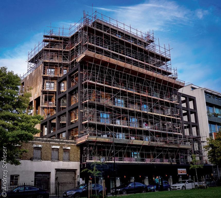 Fot. 3. Wielokondygnacyjny budynek mieszkalny Wenlock Road.