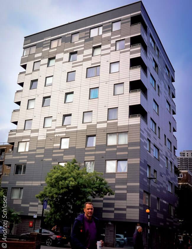 Fot. 4. Murray Groove 9-kondygnacyjny budynek mieszkalny.