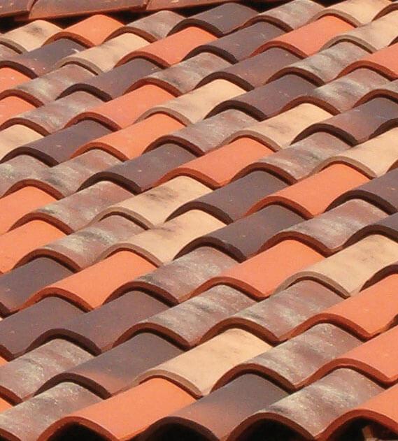 Dachówka Terreal SanMarco mix kolorów.