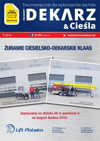 Fachowy Dekarz & Cieśla 1-2019
