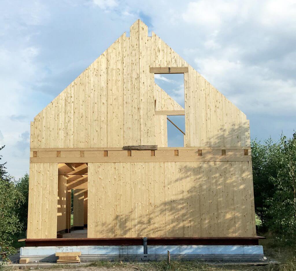 Nowy wiejski dom z drewna - Dom Organiczny