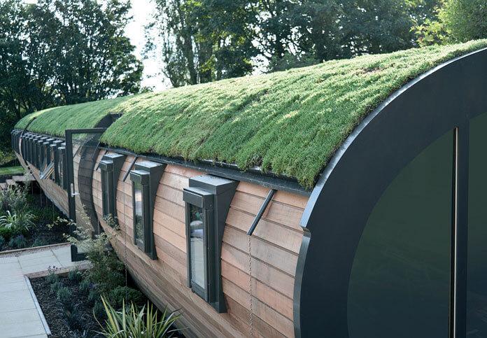 okna dachowe FAKRO FTP-V U5 zastosowane w modułach charakteryzują się dobrym współczynnikiem przenikania ciepła Uw = 0,97 W/m²K