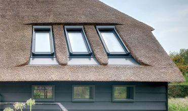 okna dachowe FTT U8 Thermo o współczynniku przenikania ciepła Uw = 0,58 W/m²K