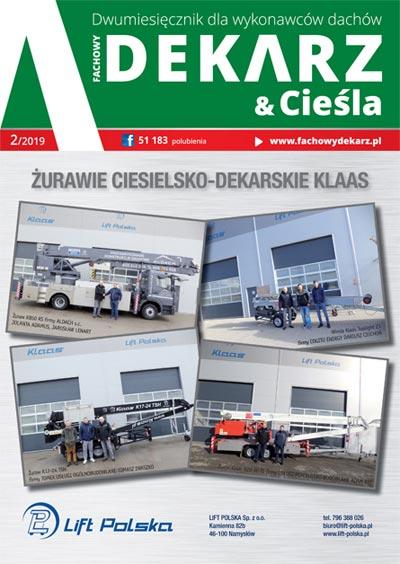 Fachowy Dekarz & Cieśla 2-2019