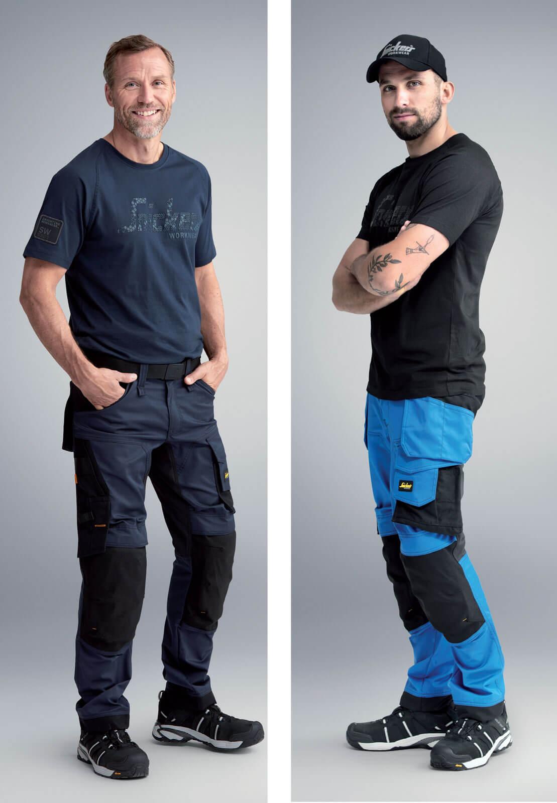 Spodnie elastyczne Snickers Workwear 62416341 Dekarz i Cieśla