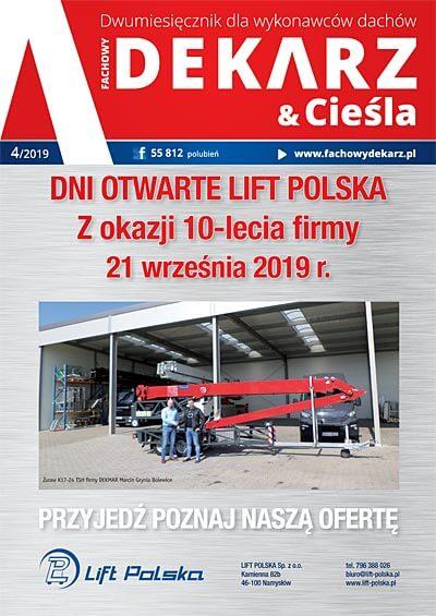 Fachowy Dekarz & Cieśla 4-2019