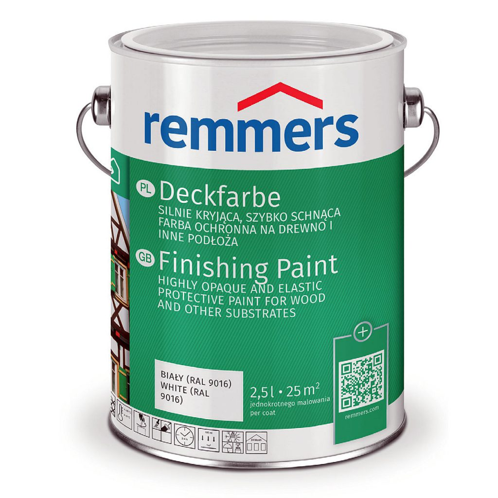 Farby wodne z Remmers Deckfarbe