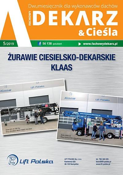 Fachowy Dekarz & Cieśla 5-2019
