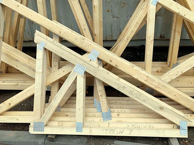 Precyzja i solidność – wiązary dachowe Eco-house