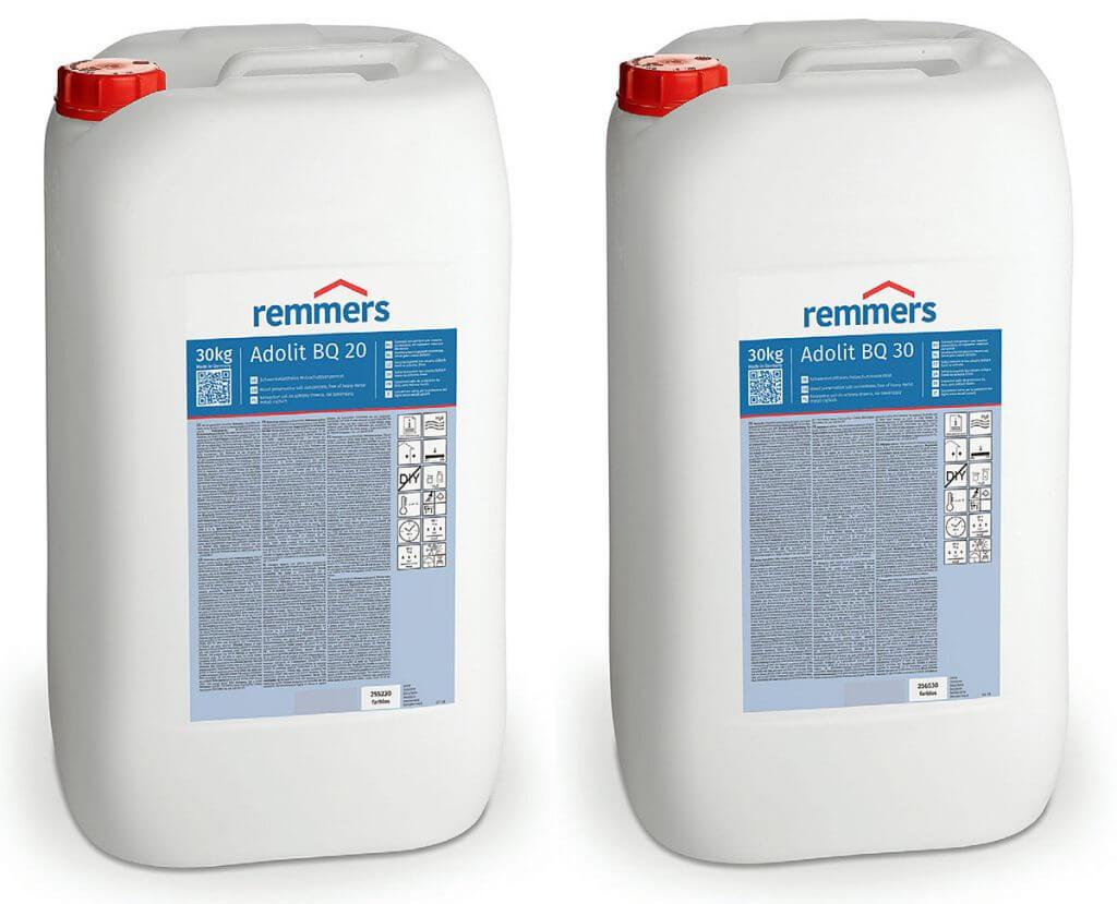Remmers  profilaktyczna ochrona drewna z Adolit BQ 20 i 30