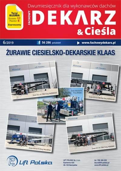 Fachowy Dekarz & Cieśla 6-2019