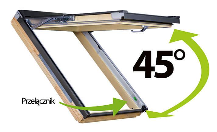 Okno dachowe najnowszej generacji Fakro FPP-V preSelect MAX