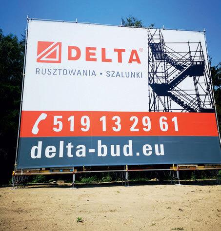 Konstrukcje reklamowe DELTA