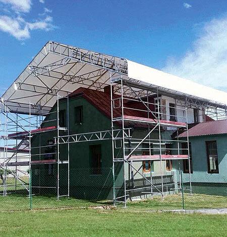 Konstrukcje dachowe DELTA