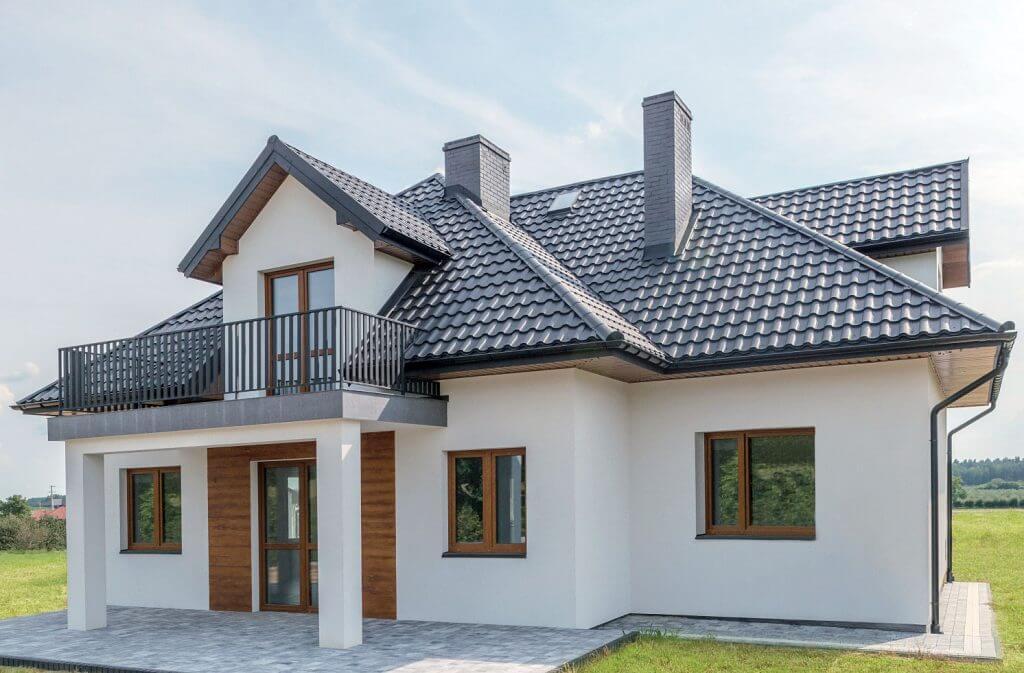 Podbitka Blachy Pruszyński - eleganckie wykończenie dachu