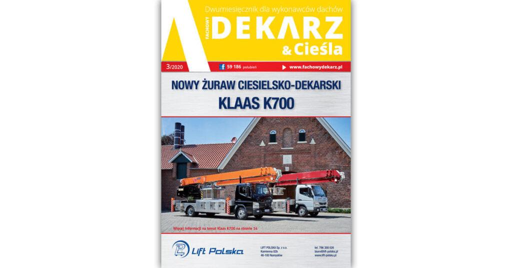 Fachowy Dekarz & Cieśla 3-2020