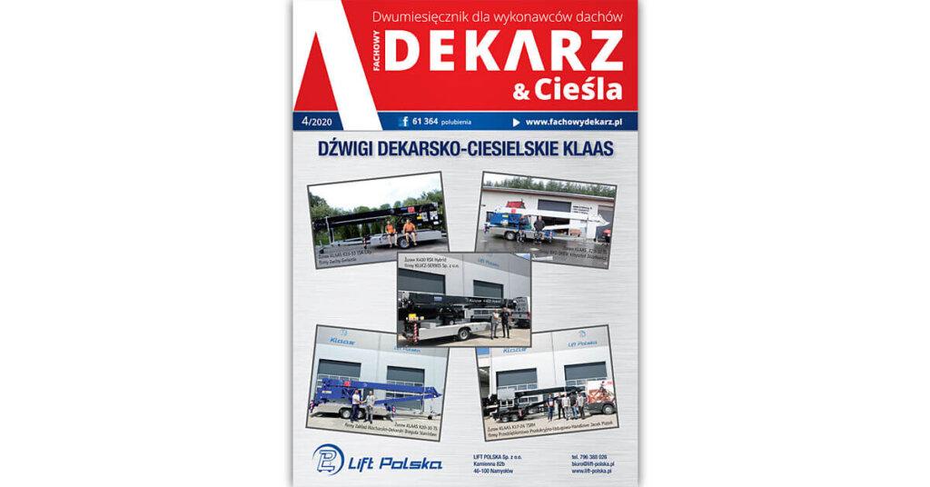 Fachowy Dekarz & Cieśla 4-2020