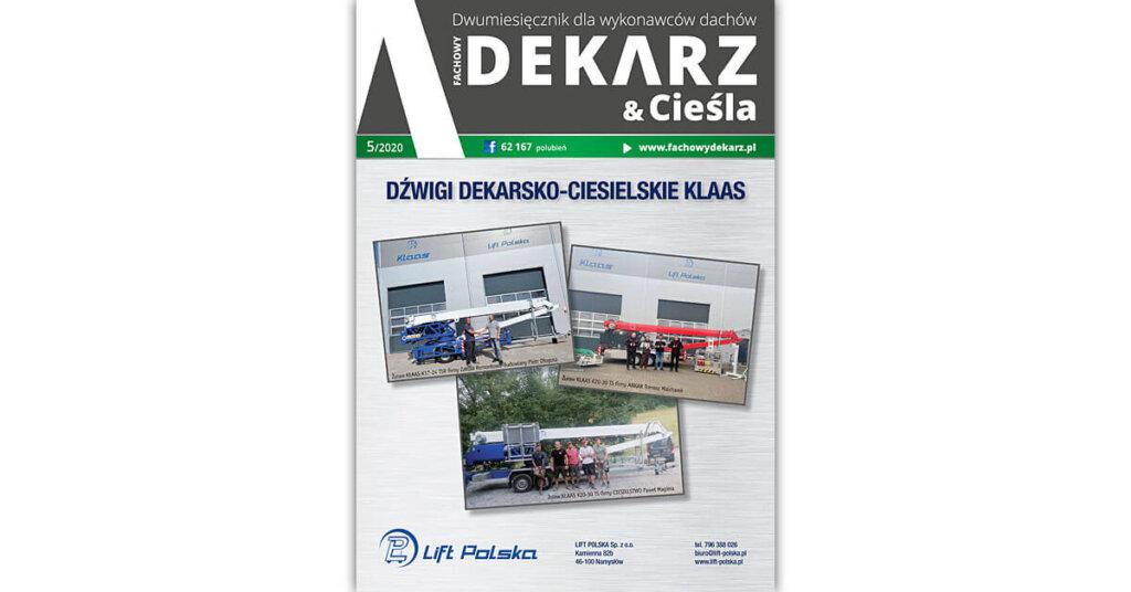 Fachowy Dekarz & Cieśla 5-2020