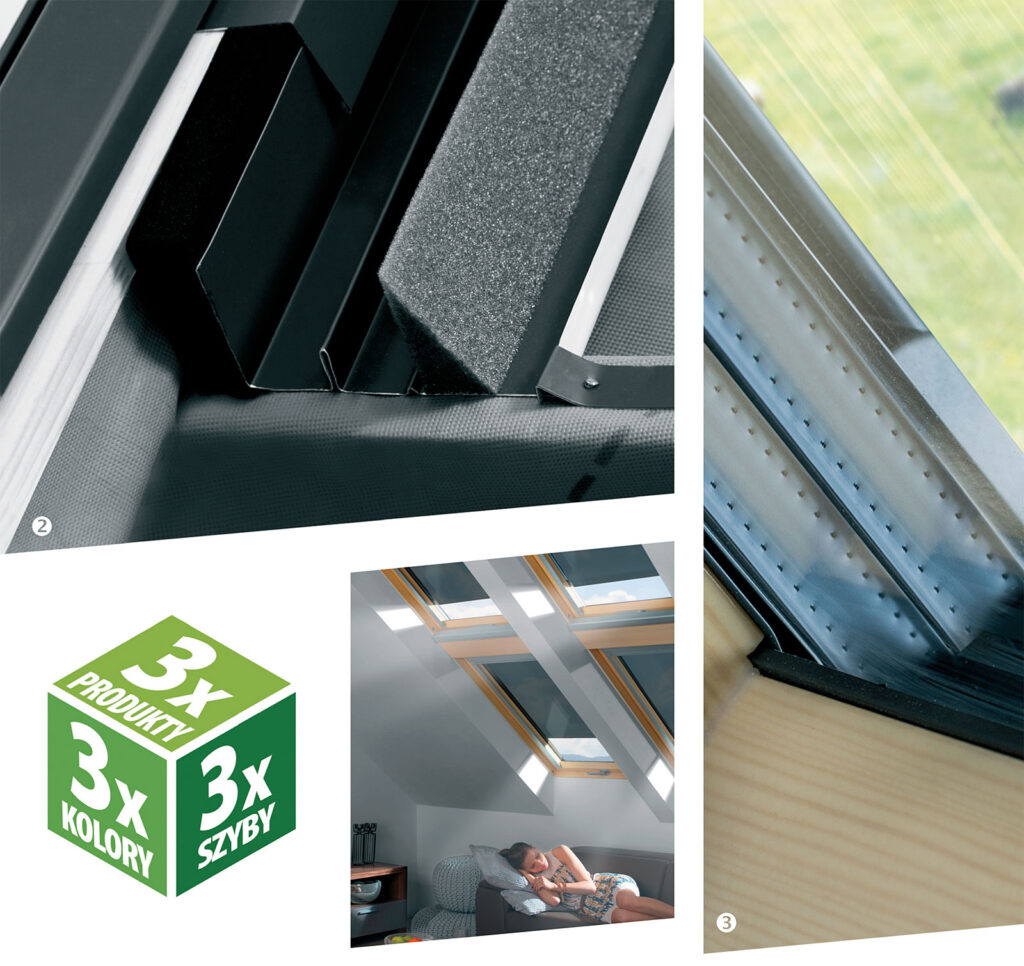Wymierne korzyści z zastosowania 3-szybowych okien dachowych