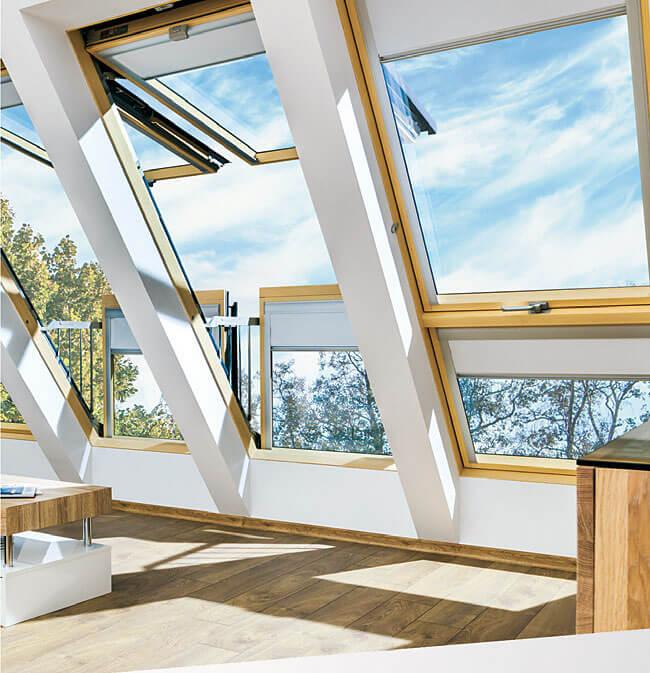 Okna balkonowe FGH-V P5 Galeria
