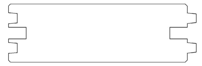 Rys. 4. Przekrój panela ściennego.