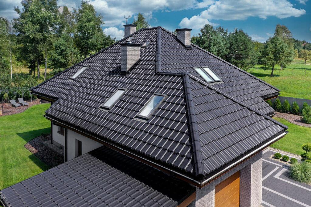 Dom z dachówką TITANIA marki CREATON według ARCHON - 04