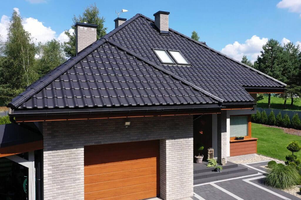 Dom z dachówką TITANIA marki CREATON według ARCHON - 05